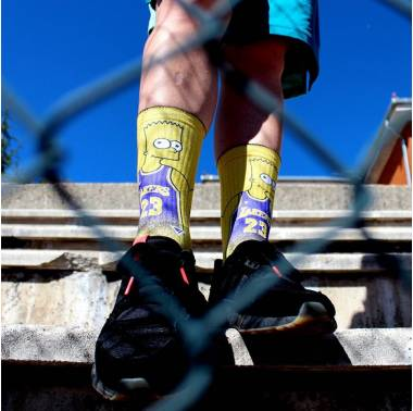 chaussettes-homme crossfit jaunes bart james lithe-apparel