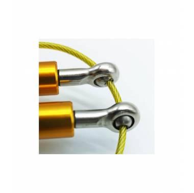 Corde à sauter crossfit aluminium - SVELTUS - boutique snatched accessoires sport fitness