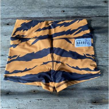 Booty Short Comp Short 2.0 (Tiger Queen) The Barbell Cartel