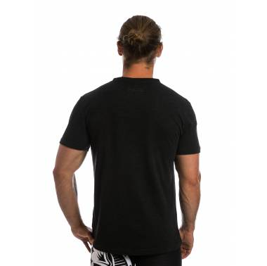 T-shirt Burgers & Barbells Homme noir / rouge - Northern Spirit boutique vetement homme crossfit