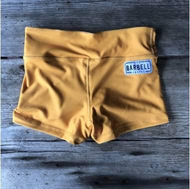 Booty Short Comp Short 2.0 (sunset gold) - The Barbell Cartel