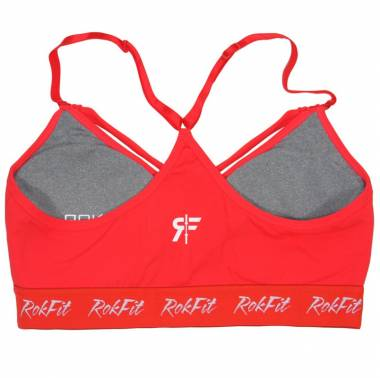 Brassière The Elissa rouge- Rokfit - Vêtements femmes sport crossfit boutique snatched