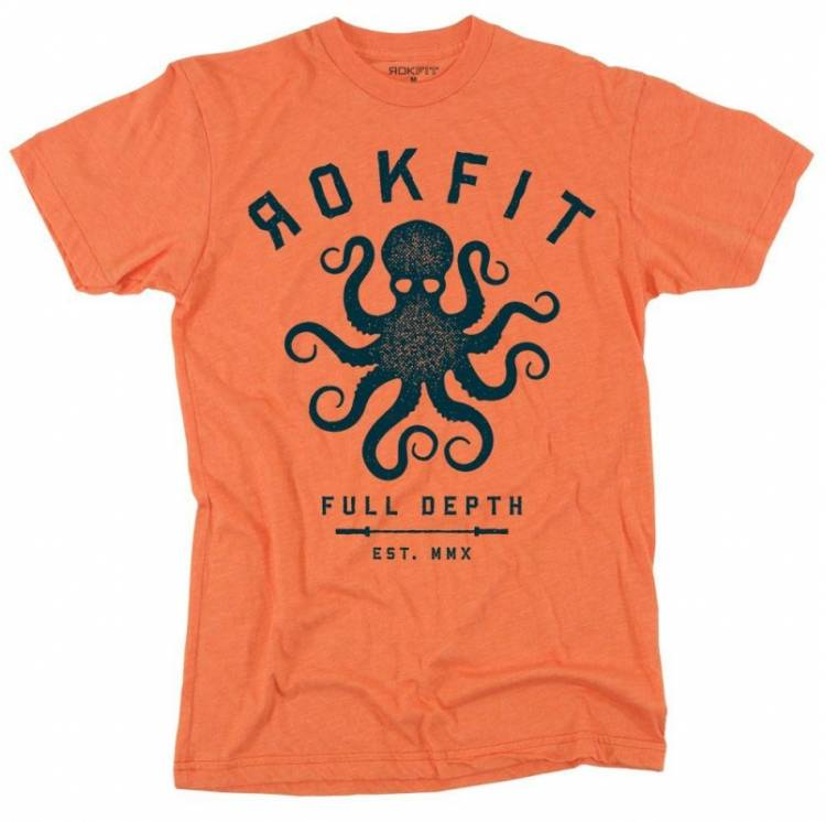 Tshirt Full Depth - Rokfit homme. Boutique snatched vetements sport crossfit