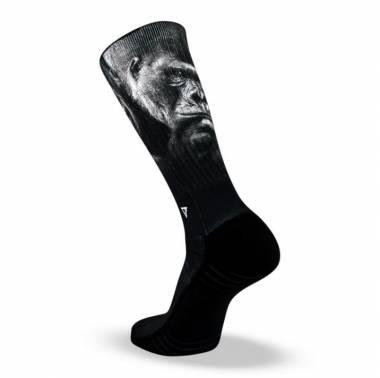 Chaussettes noires Silver Black - Lithe Apparel. Boutique snatched accessoires crossfit sport training socks