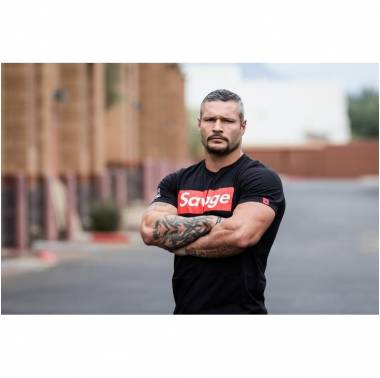 T-shirt Savage Barbell homme - Savage box. Boutique snatched vêtements hommes crossfit sport training workout