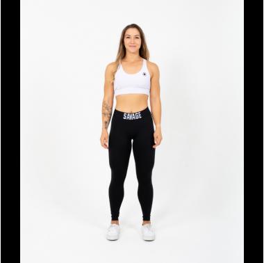 Legging femme taille haute noir ANKLE LENGTH - SAVAGE BARBELL