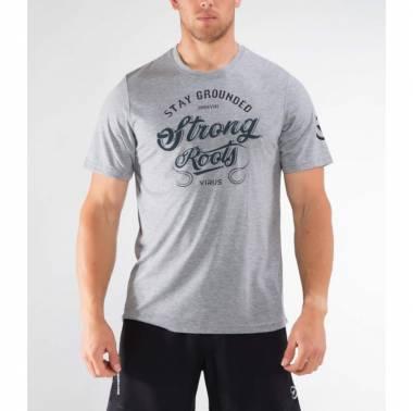 Tshirt homme Virus gris - PC68 Strong Roots Premium Regional Tee
