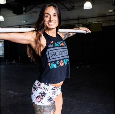 Booty Short femme crossfit (Sweet and Spiky) Rokfit