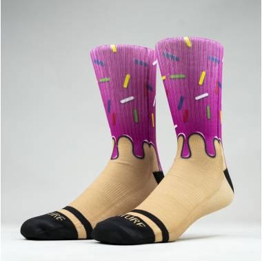 Chaussettes DOH-NUT - Wodable. Boutique Snatched chaussettes Crossfit socks