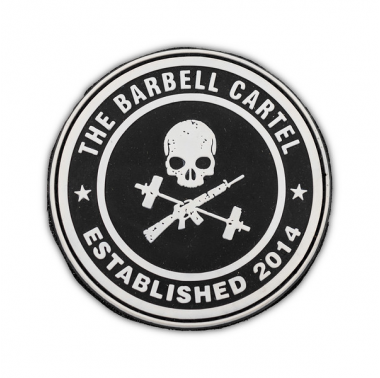 Patch silicone velcro - Jolly Roger - Barbell Cartel
