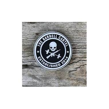patch-velcro-Jolly-Roger-Barbell-Cartel