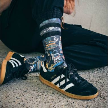 Chaussettes CONSPIRACY - American Socks