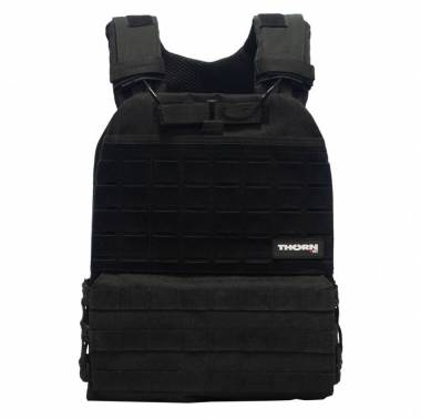 Gilet lestable noir Tactical - THORN FIT
