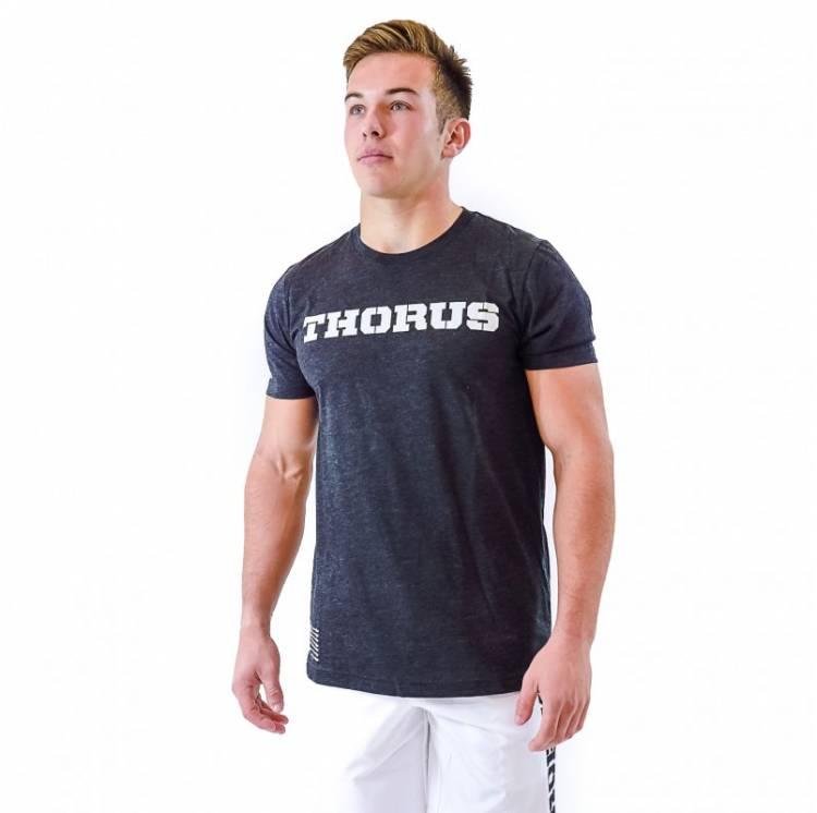 T-shirt Thorus wear  - Black Classic Homme boutique vêtements crossfit