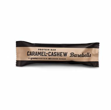 barre-proteinee-caramel-cashew-barebells nutrition crossfit snacks