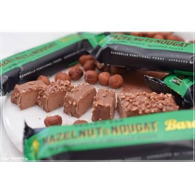 Barre protéinée Hazelnut & Nougat - Barebells. Boutique Snatched nutrition crossift barres protéinées