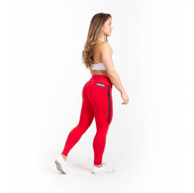 Legging Red 2.0 - SAVAGE BARBELL