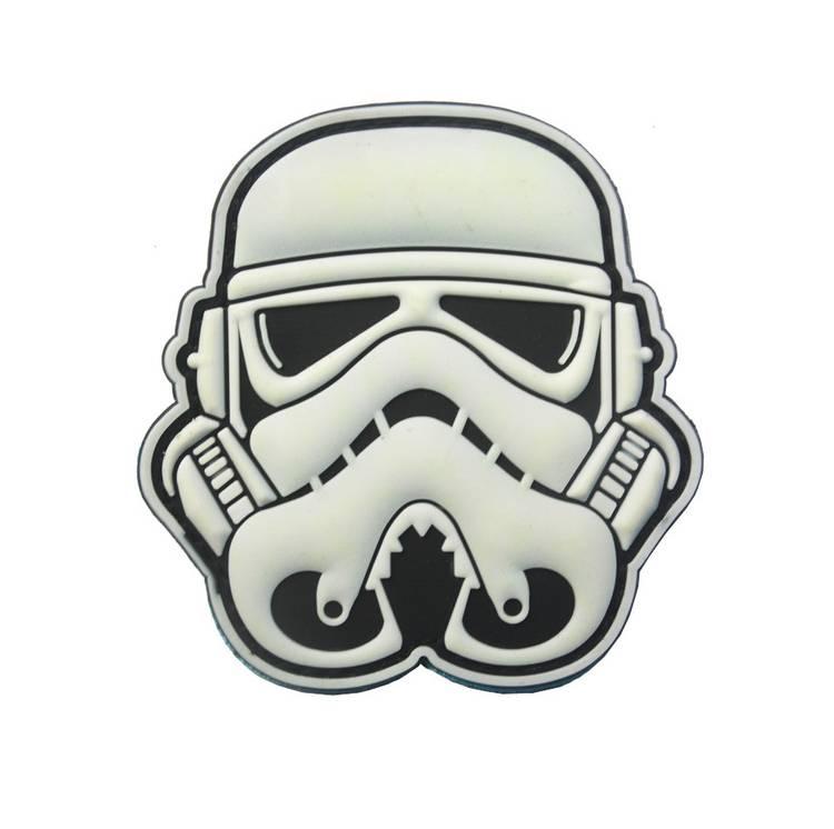 Patch PVC Silicone Star Wars Troopers sac à dos gilet lesté crossfit boutique snatched
