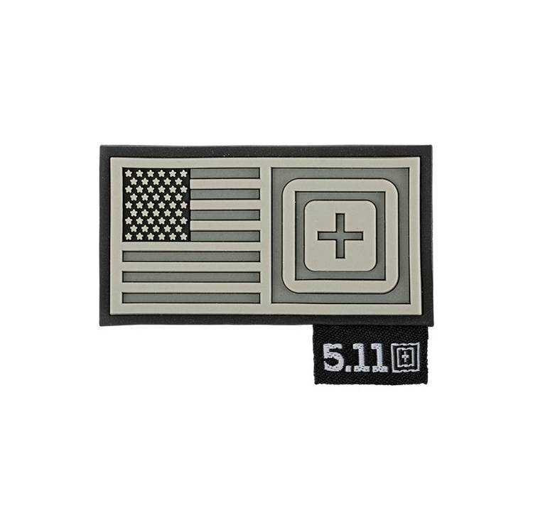 Patch CrossFit ® Short Stack gris - 5.11 tactical - Boutique Snatched