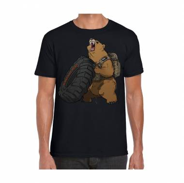 T-shirt homme crossfit Grizzly Fitness 2020 - 5.11 tactical - boutique vetements crossfit snatched